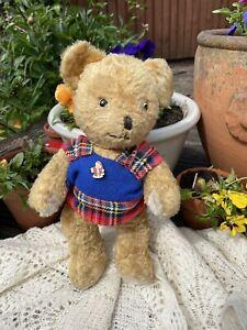 "💙❤️ Little Mac   Cheeky Old 13"" Vintage Arthur van Gelden Dutch Teddy Bear 💙❤️"