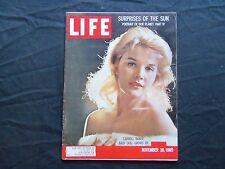 1960 NOVEMBER 28 LIFE MAGAZINE - CARROLL BAKER - L 1233