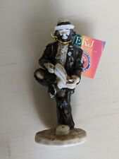 Flambro Emmett Kelly Jr Miniature Nostalgia Series A HOLE IN THE SOLE With Box