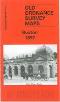 OLD ORDNANCE SURVEY MAP BUXTON 1897 FAIRFIELD SPENCER ROAD BURLINGTON ROAD