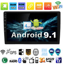 9Inch Android 9.1 Car Stereo Radio GPS Wifi 3G 4G BT DAB Mirror Link OBD Player