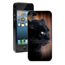 For iPhone SE 5 5S 5c 6 6s 7 Plus Hard Case Cover 1033 Black Panther Leopard