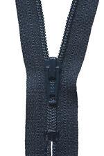 3x Nylon Dress & Skirt Zip 10cm Dark Navy Sewing Craft Tool Hobby Art