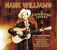 HANK WILLIAMS A COUNTRY LEGEND  (NEW SEALED CD)