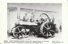 Agriculture Postcard - Fyson Traction Engine T1 Built 1894  U135