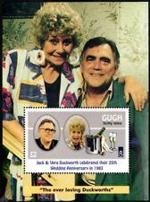 CORONATION STREET Stamp Sheet: Jack & Vera Duckworth
