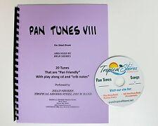 """Steel Drum Play Along Book """"Pan tunes 8"""""""