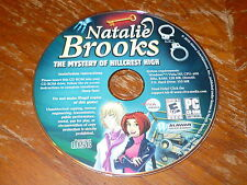 Natalie Brooks The Mystery Of Hillcrest High PC CDROM Viva 2010 Windows XP/Vista