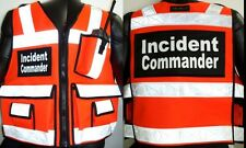 Incident Command Vest ANSI II Reflective, 3m Vest, Reflective Vest, Safety Vest