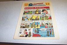 COMICS THE OVERSEAS WEEKLY 6 DECEMBER 1959 BEETLE BAILEY THE KATZENJAMMER KIDS