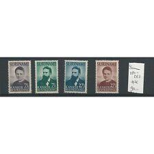 Suriname 280-283 Röntgen    MNH/postfris   CV 90 €