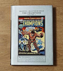 Marvel Masterworks Champions volume 1 hardcover