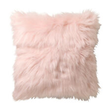 Logan & Mason Presley Blush Faux Fur Filled Cushion 45 X 45cm