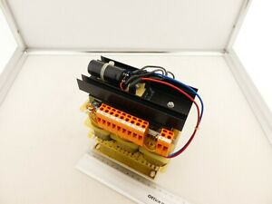 Drehstromtrafo Pr. 400V / Sek 24V DC / 10 Ampere (21-10-19-7)