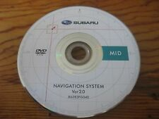 2008 2009 2010 SUBARU FORESTER IMPREZA Navigation DVD 86283FG040 MID FACTORY OEM