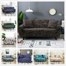 Stretch Sofa Covers Slipcovers Elastic All-inclusive Couch Case 1 2 3 4 Seater