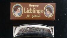 Harmonica Vintage M. Hohner Unsere Lieblinge Key G, Pre War (New) Old Stock