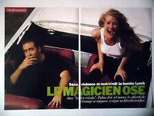 COUPURE DE PRESSE-CLIPPING : David LYNCH [8pages] 11/1990 Sailor et Lula,L.Dern