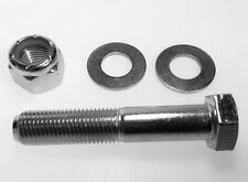"""Narrow 4 Link Axle Diamond Bracket Bolt & Nut & Washers 3/8 UNF x 2"""""""