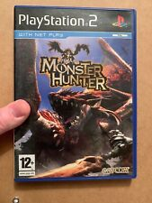 Monster Hunter (Sony PlayStation 2 PS2 2004) UK PAL Complete / Tested - Capcom