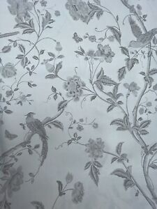 Laura Ashley Summer Palace Dove Grey Fabric (per metre)