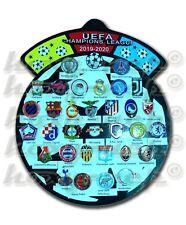2020 Champion League Football Soccer 33 Pin Badges brooch set UEFA European new