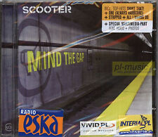 = SCOOTER - MIND THE GAP !!! / polish stickers !!! /// CD sealed from Poland