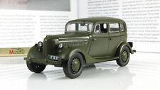 GAZ 11-73 USSR Car Soviet Phaeton Sedan Retro Model Car scale 1/43 De Agostini