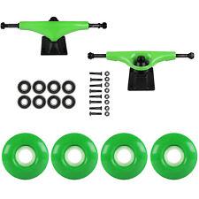 Skateboard Package Havoc Green 5.0 Trucks 53mm Kelly Green Abec 7 Bearings
