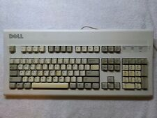 Dell AT101W Mechanical Keyboard GYUM90SK PS/2 Black Alps Switches TESTED WORKS
