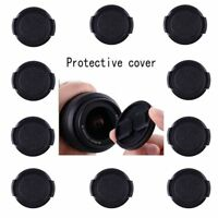10pcs 55mm Snap-On Front Lens Cap Cover For All Canon Nikon Sony Camera