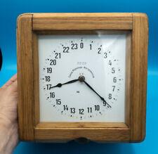 Very Rare 24H Ussr Russian Soviet Navy Ship Clock Boxed 1962