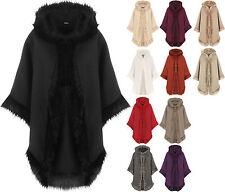 Women's Outdoor Wool Blend Button Hip Length Coats & Jackets