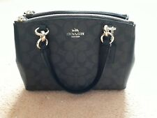 Coach small leather shoulder bag, never used RRP £425