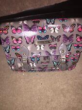 Anna Smith Grey Butterfly Satchel BNWT