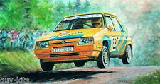 SKODA FAVORIT 'RALLYE' - Kit SMER 1/28 n° 972