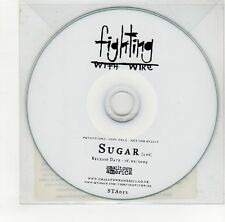 (GO151) Fighting With Wire, Sugar - 2009 DJ CD