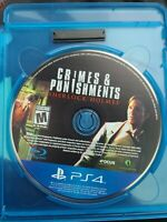 SHERLOCK HOLMES : CRIMES AND PUNISHMENTS (for SONY PS4 PLAYSTATION 4) DISC ONLY!