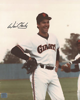 Will Clark signed autographed 8x10 photo! RARE! AMCo Authenticated!