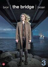 The Bridge: Season 3 Sofia Helin & Thure Lindhardt, NEW, (DVD, 2017, 4-Disc Set)