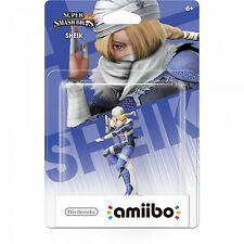 Nintendo Amiibo Sheik - US First Print - Very rare Brand New in Mint Box