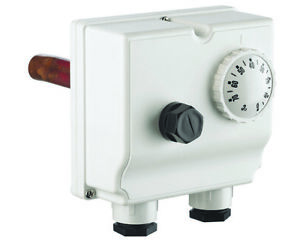 Dual Thermostat with combined Control and High Limit Thermostats