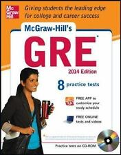 McGraw-Hill's GRE with CD-ROM, 2014 Edition: Strategies + 8 Practice Tests + Tes