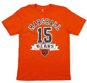 NFL Football Kids / Youth Chicago Bears Brandon Marshall #15 T-Shirt - Orange