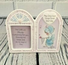 Precious Moments By Enesco, Porcelain Frame, May Only Good Things Come