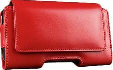 SALE: SENA Bumper Pouch Leather Case RED for iPhone 4/4S