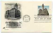 UX99  13c Old Post Office, Washington, DC, ArtCraft, FDC