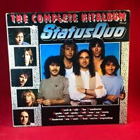 STATUS QUO The Complete Hit album 1985 Dutch Double Vinyl LP EXCELLENT CONDITION