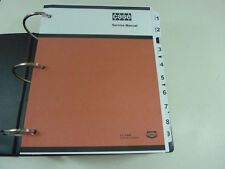 Case W30 Loader Service Manual Repair Shop Book NEW with Binder
