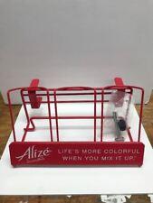 ALIZE or Wine Bottle Shelf Extender Red Holds 3 Bottles Bareware Wine Rack